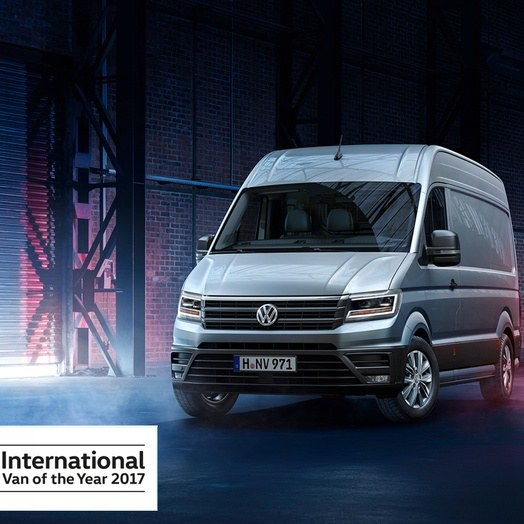 International Van of The Year 2017 - Noul Volkswagen Crafter
